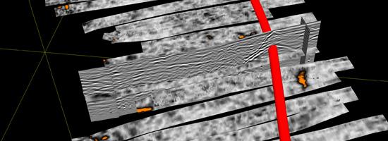 3D opzoeking van ondergrondse waterloop